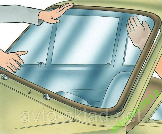 Уплотнитель лобового стекла 2101, 2104, 2105, 2107