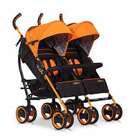 Детская коляска-трость для двойни easyGo DuoComfort