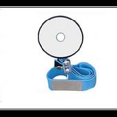 Рефлектор лобный с прорезиненным изголовьем, 80 мм (Ф-80)