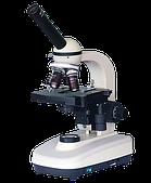 Микроскоп монокулярный XSP-128М Ulab (4х, 10х, 40х, 100хOil)