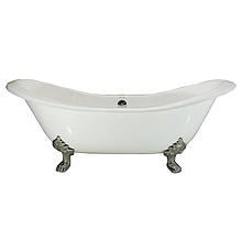 Чугунная ванна Devit Charlestone 18677142 ножки хром