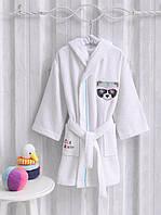 Детский банный халат MARIE CLAIRE RATON белый (7-8 лет)