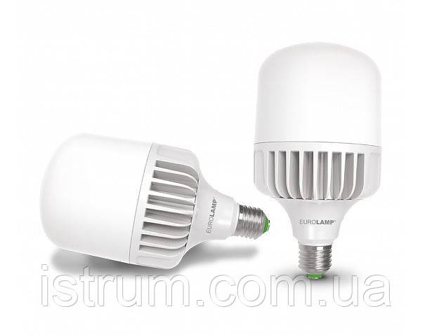 Лампа LED высокомощная 30W E27 4000K (EUROLAMP)