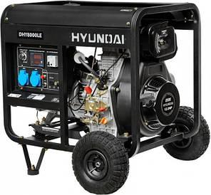 Генератор дизельный Hyundai DHY 8000LE (Бесплатная доставка по Украине), фото 2