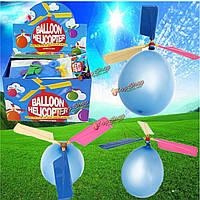 20X красочный традиционный классический вертолет воздушный шар портативный летающий игрушка