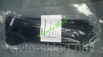 Хомут пластиковий 250х3,6 100 штук чорний, білий