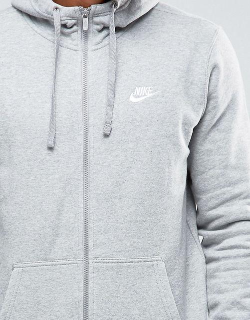 e290a6fe Спортивная толстовка Nike M NSW HOODIE FZ FLC CLUB достойно дополнит образ  спортсмена и сможет обеспечить ему комфорт и тепло на протяжении всей  уличной ...