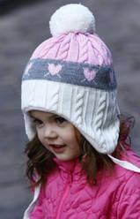 Шапка детская для девочки Raster STRZALA. Разные расцветки