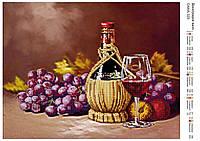 """Схема для вышивания бисером """"Виноградное вино"""" 325"""