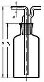 Склянка Дрекселя, 250мл, Boro 3.3, ТС