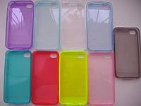 Силиконовый чехол TPU Apple iPhone 4/4S/5/5S/6+