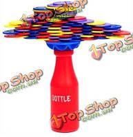 Детские образовательные игрушки укладка диск баланс игра дженга Puzzle игрушки