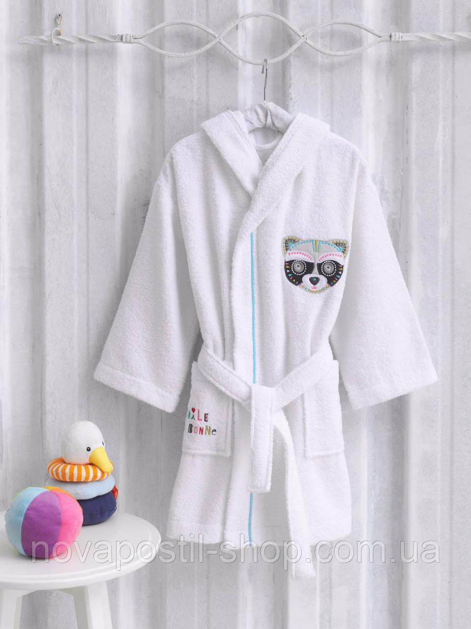Детский банный халат MARIE CLAIRE RATON белый (9-10 лет)