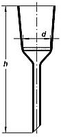 Воронка фильтрующая, 70мл, 5-15мкм (ПОР 16), Boro 3.3, ТС