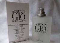 Тестер без крышечки духи мужские  Armani Acqua di Gio pour homme (Армани Аква Ди Джоя пьюр хоум)