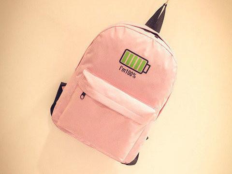 Стильный школьный рюкзак с модным принтом