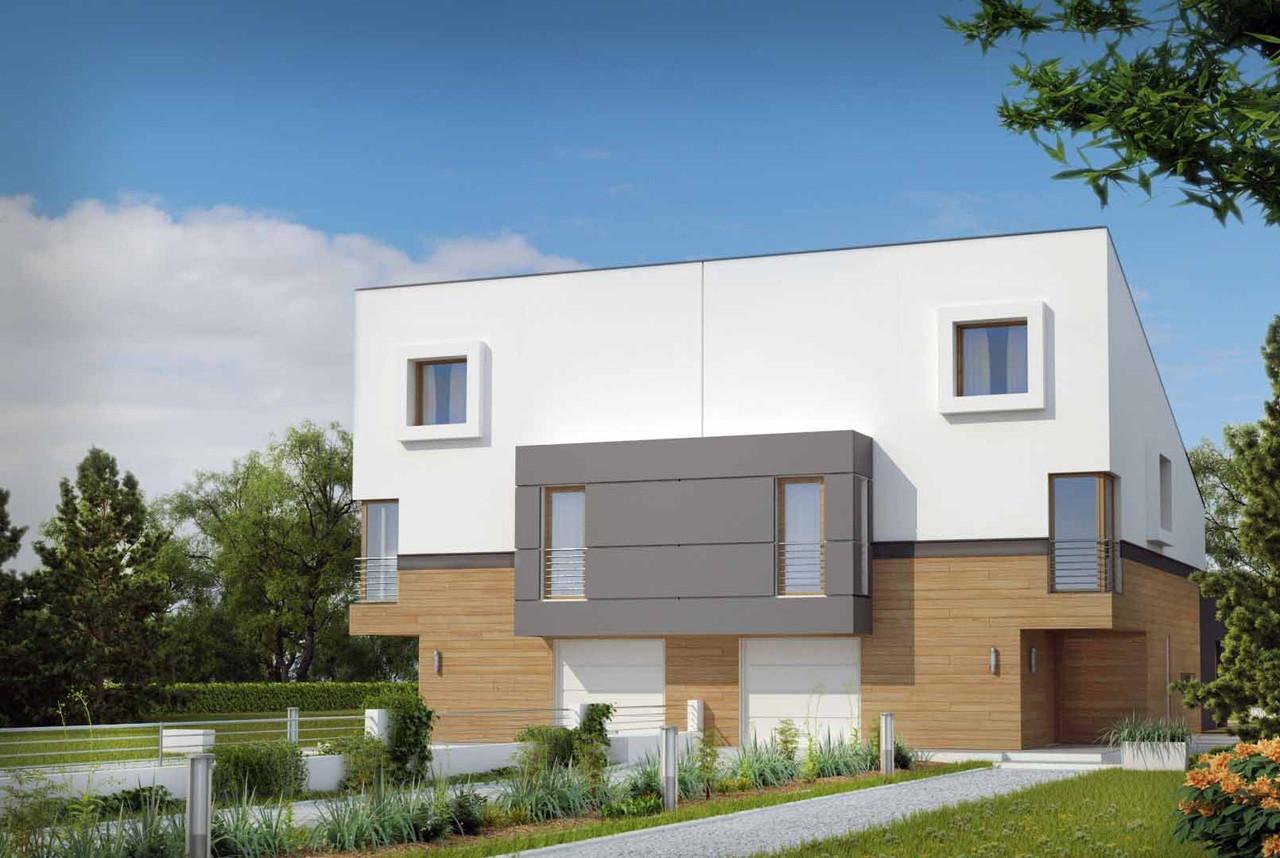 Строительство коттеджей и малоэтажных домов  - Проект .Дома № 2,43