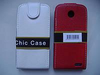 ЧЕХОЛ-КНИЖКА (Chic Case) LENOVO A516/A378  БЕЛЫЙ