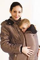 Зимняя куртка 3в1 для будущих мам и слингомам