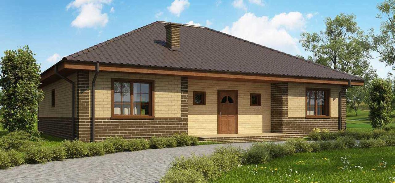 Строительство коттеджей и малоэтажных домов  - Проект Дома № 2,44