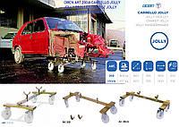 OMCN Art.250/A Тележка для транспортировки поврежденных аварийных автомобилей грузоподъемностью 0,8т