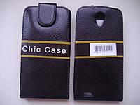 ЧЕХОЛ-КНИЖКА (Chic Case) Lenovo S650 КАЧЕСТВО !!!