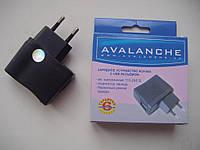 Сетевое зарядное AVALANCHE с USB выходом 5V/500mAh