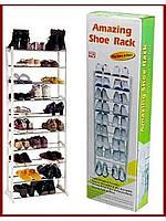 Органайзер-полочка для обуви Amazing shoe rack, фото 1