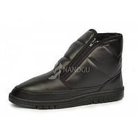 Ботинки мужские зимние черные на меху Tornado, Черный, 41