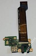 Audio USB шлейф Toshiba Portege R700 FULSN4 A2834
