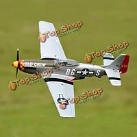 ElevenHobby P-51D p51d Мустанг старая ворона 1100мм 43-дюймов размах pnp