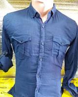 Рубашка подростковая для мальчика с длинным рукавом