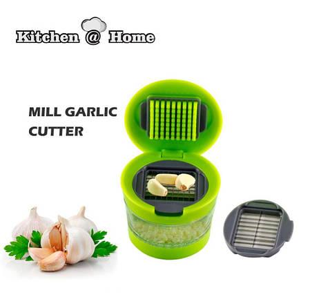 Измельчитель чеснока garlic chopper kitchen & home, фото 2