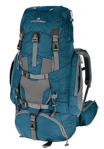Большой экспедиционный рюкзак Ferrino Transalp 100 Blue 922877 синий