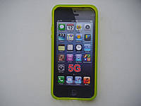 Силиконовый чехол бампер для Apple iPhone 5/5S