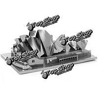 Айпин поделки 3d головоломки из нержавеющей стали собрана модель Сиднейский оперный театр
