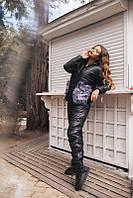 Зимний костюм куртка и штаны плащёвка утеплитель силикон размеры с-м и м-л