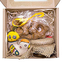 Подарочный набор №01. Петушок с медом и печеньем
