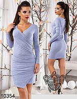 Элегантное коктельное платье из замши  9 шикарных цветов
