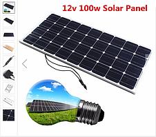 Солнечная панель Solar board 100W 18V