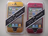 Чехол накладка бампер для Apple iPhone 4/4S