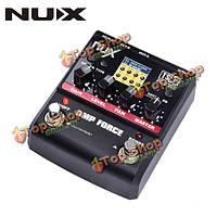 NUX усилитель педали искажения силы гитарные эффекты моделирования усилителя Тренажер