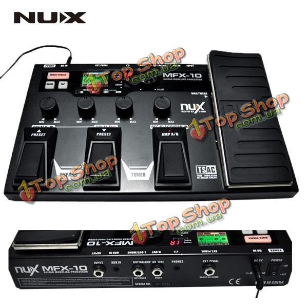 NUX гитары процессор эффектов моделирования гитарного процессора MFX-10 моделирование - ➊TopShop ➠ Товары из Китая с бесплатной доставкой в Украину! в Киеве