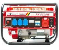 Бензиновый генератор Prokraft  4.8 кВт трехфазный