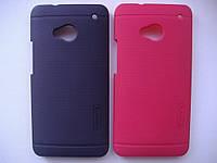 Чехол накладка бампер HTC ONE M7 NILLKIN (КРАСНЫЙ)