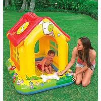 Детский игровой центр-бассейн Intex 57429, Домик
