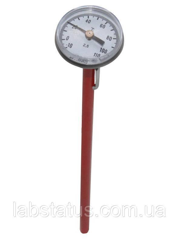 Термометр биметаллический ТБИ 25-130 (0+120°С) игольчатый