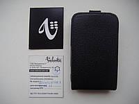 ЧЕХОЛ-КНИЖКА (КОЖА) VALENTA для HTC Wildfire S