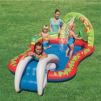 Детский игровой центр-бассейн с горкой BestWay 53051