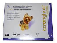 Стронгхолд 12% для собак 2,6-5 кг (3 піпетки/0,25 мл)
